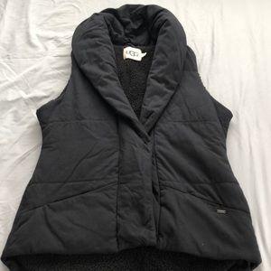 Black ugg Australia cloth vest